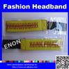 Fashion Plating Jewelry Cheap Plain Decorating Adjustable Headbands