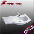 artistic countertop vanity faucet bathroom face wash basin Chaozhou ceramic bowl