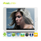 "2013 best selling 3g sim card slot android tablet pc quad core1gb MTK8389 7.85"" IPS Screen 1024*768 S785+ 3g bluetooth"