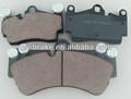 cerâmica carro pad disco de freio para a porsche