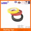 Heat resistance adhesive masking tape, paper masking tape