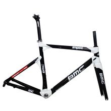Hottest BMC impec carbon bicycle frame,Black&white BMC impec carbon frames chinese,Racing BMC impec frame carbon
