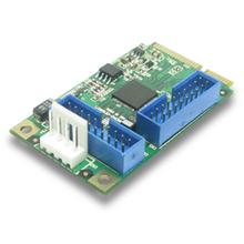 Mini PCI-Express USB3.0 Card (4x USB3.0, Renesas)