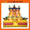 jungle giant inflatable slide for kids play ,inosaur inflatable slide