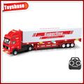 Brinquedo de controle remoto caminhão de cimento