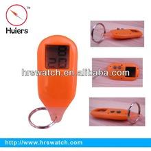 digital watch keychain,clock watch keychain