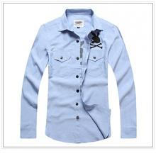 Charming long sleeves mens new model shirts2013
