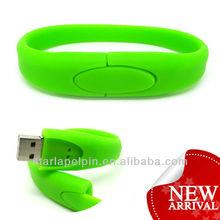 bracelet usb flash disk ,wedding gift usb pen drive,cheap usb wristband