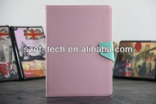 High quality leather case for ipad 5, for ipad air leather case, for ipad air case