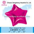 folha de hélio partido decoração inflável estrela