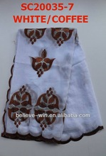 Hot sale african muslim hijab scarf(SC20035-7)