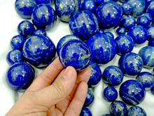 (CIG) lapislazzuli sfera esemplari di cristallo