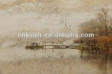 nuovo prodotto dipinti ad olio impressione paesaggio strada dim