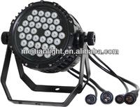 36x3w RGB LED Outdoor Par64 Stage light