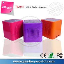 Portable cube 21 inch speaker