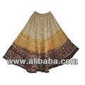 Vestuário das mulheres bonitas saias longas//& tie dye com bandhage estilo pela mão, indian étnicas& tradicionais saias