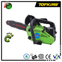 Inertia chain brake and easy starter gas Chain saw 25cc