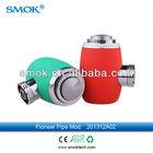 2014 newest mechanical ecigs mod smoking glass pyrex pipe