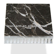 water transfer printing aluminum granite honeycomb panels for wall decoration