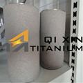 titanio sinterizado de piezas de metal para filtro de agua