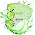 factory supply cucumber whitening facial mask face beauty products