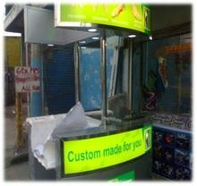 Stainless Kiosk