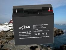 payment O/A L/C B/L D/P available 12v 17ah secure battery