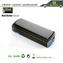 high quality solar charger 2600mah with LED light by China manufacturer