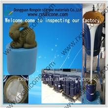 concrete and gypsum mold silicone rubber