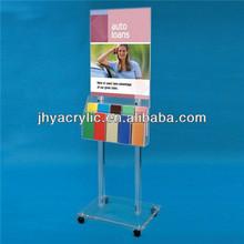 Super Hot free standing brochure holder