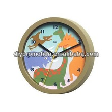 6 inch personalized electric wall clocks kids room decorate