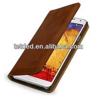 OEM Premium Leather Case for Samsung Galaxy Note 3/III N9000 N9002 N9005 -- Gerzat II (Vintage: Brown)
