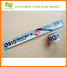 Custom Promotional slap bracelets