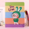 Relaxing Rabbit cute case for i pad3 tablet, for i pad case leather