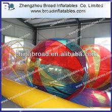2m PVC/TPU aqua water ball,inflatable water ball,human sphere