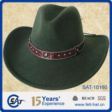 100% Wool felt hat,Cowboy Hats