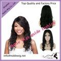 hermoso cuerpo de onda del pelo humano virgen de brasil la parte media de encaje frente pelucas cabello natural