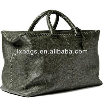durable pu leather travel bag weekend bag