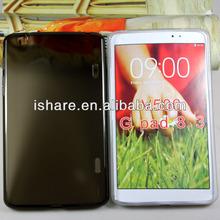 Shiny tpu case for LG G PAD 8.3 V500 tpu cover