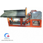 Small shaking table, laboratory shaking table for ore slurry washing