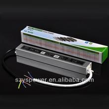 40W full color led driver constant voltage led driver 24v