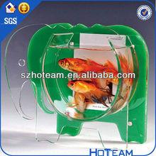 acrylic wall mount fish bowl