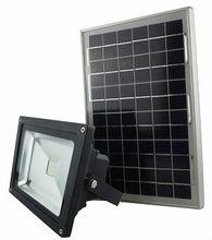 LED solar floodlight 10w
