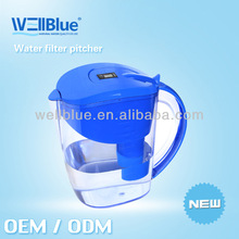 Portable Alkaline Water Filter Ionized With Activated Carbon Inside