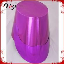 purple paper party hat