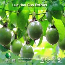 100% Natural Mogroside V (Monk Fruit Extract) used as sweetner