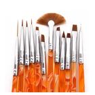 12pcs Acrylic Nail Brush Set