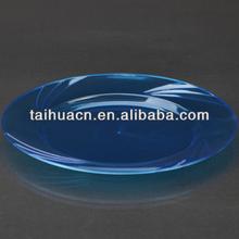 16cm purple disposable plastic serving trays