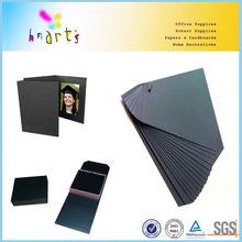 thick black cardboard sheets,black paper photo album bord,black paper cardboard
