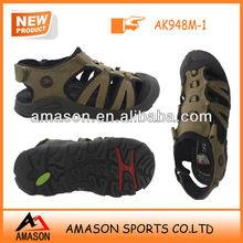 China wholesale men's leather sandal chappals